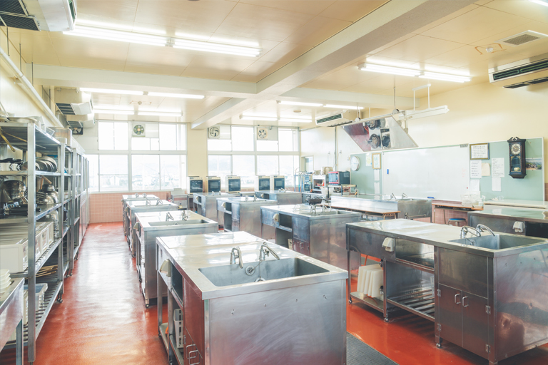 調理科実習室